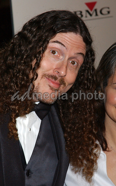 Feb. 8, 2004; Hollywood, CA, USA; Singer WIERD AL YANKOVIC during the BMG 46th Annual Grammy Awards Post-Grammy Gala Celebration held at The Avalon. Mandatory Credit: Photo by Laura Farr/AdMedia. (©) Copyright 2003 by Laura Farr