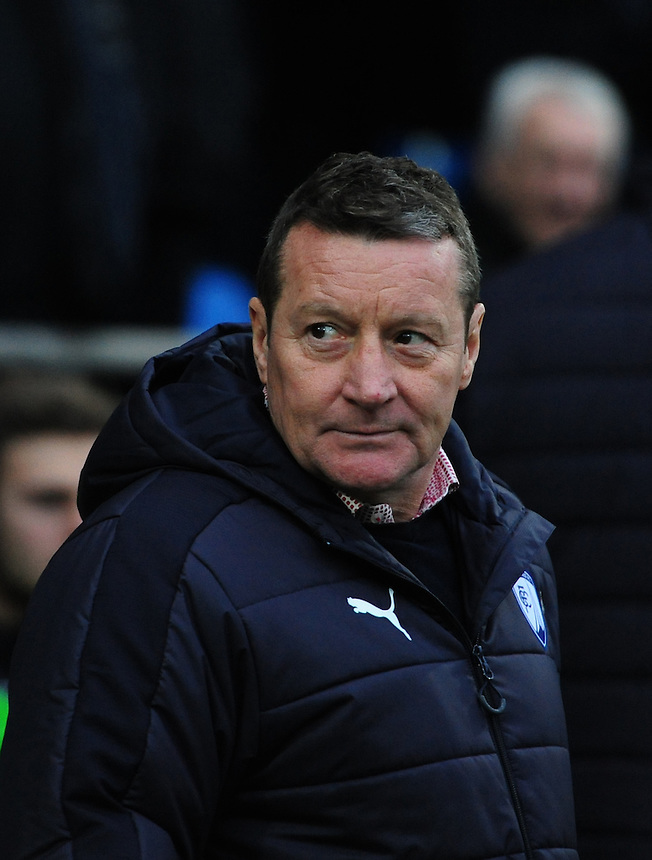 Chesterfield manager Danny Wilson <br /> <br /> Photographer Chris Vaughan/CameraSport<br /> <br /> The Emirates FA Cup Second Round - Chesterfield v Wycombe Wanderers - Saturday 3rd December 2016 - Proact Stadium - Chesterfield<br />  <br /> World Copyright &copy; 2016 CameraSport. All rights reserved. 43 Linden Ave. Countesthorpe. Leicester. England. LE8 5PG - Tel: +44 (0) 116 277 4147 - admin@camerasport.com - www.camerasport.com