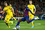 27th November 2019; Camp Nou, Barcelona, Catalonia, Spain; UEFA Champions League Football, Barcelona versus Borussia Dortmund; picture show dembele shoot on goal