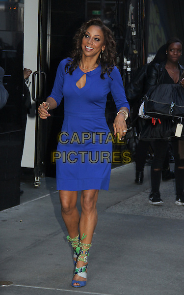 03 16, 2016: Holly Robinson Peete  at Good Morning America to talk about reality show For Peete's  Sake  in New York. <br /> CAP/MPI/RW<br /> &copy;RW/MPI/Capital Pictures