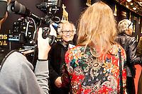 """Premiere van Jos Stellings """"het Meisje en de Dood"""" in de stadsschouwburg. .Jos Stelling.Foto: Nichon Glerum.Utrecht, 26 sept - 4 okt 2012.Nederlands Film Festval 2012, NFF.2012, NFF12."""