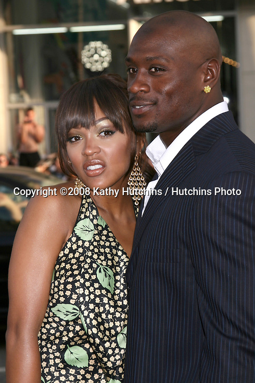 "Meagan Good & Thomas Jones.""Love Guru"" Premiere.Grauman's Chinese Theater. Los Angeles, CA.June 11, 2008.©2008 Kathy Hutchins / Hutchins Photo ."