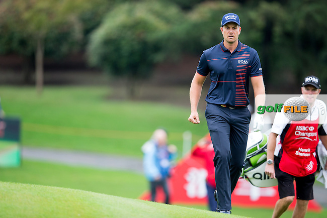 Henrik Stenson (SWE) on the 10th during the 1st round f the WGC-HSBC Champions, Sheshan International GC, Shanghai, China PR.  27/10/2016<br /> Picture: Golffile | Fran Caffrey<br /> <br /> <br /> All photo usage must carry mandatory copyright credit (&copy; Golffile | Fran Caffrey)
