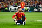 Spain's Sergio Ramos during UEFA Nations League 2019 match between Spain and England at Benito Villamarin stadium in Sevilla, Spain. October 15, 2018. (ALTERPHOTOS/A. Perez Meca)