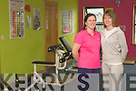 Curves: Sisters, Marie Carty and Olivia Cree of Curves gym, Mill Lane, Listowel .