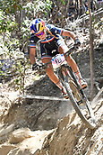 9th September 2017, Smithfield Forest, Cairns, Australia; UCI Mountain Bike World Championships; Pauline Ferrand Prevot (FRA) riding for Canyon Factory Racing XC during the elite womens cross country race