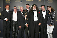 LOS ANGELES - APR 28:  Direct to Tape Sound Mixing, Days of Our Lives - Actor Thaao Penghlis, Lugh Powers, Harry Young, Michael Flamingo, Kevin Church, Joseph Lumer, Actress Lauren Koslow at the 44th Creative Daytime Emmy Awards at the Pasadena Civic Auditorium on April 28, 2017 in Pasadena, CA
