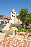 Washing Basin at Santa Barbara Mission