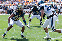 Pitt defensive back Ryan Lewis. The Pitt Panthers defeated the Villanova Wildcats 28-7 at Heinz Field, Pittsburgh, Pennsylvania on September 3, 2016.