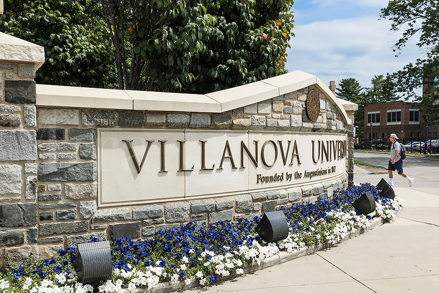 Villanova University campus, Villanova, Pennsylvania, USA.