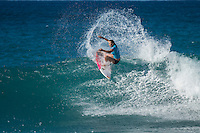 BANZAI PIPELINE, Oahu/Hawaii (Tuesday, December 13, 2016) Carissa Moore (HAW) - The Billabong Pipe Masters in Memory of Andy Irons, the final stop on the 2016  World Championship Tour (CT) was called on this morning despite  unfavourable  side onshore winds.<br /> <br /> The swell had jumped a little overnight and was coming in from a NW direction and organisers decided to get the main event under way because  the forecast for the rest of the waiting period isn't looking very good.<br /> <br /> The NW swell meant a lot of the surfing was at Backdoor with the occasional Pipeline wave. <br /> Photo: joliphotos