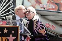 LOS ANGELES - APR 28:  Ed Asner, Barbara Bain at the Bairbara Bain Hollywood Walk of Fame Star Ceremony at the Hollywood Walk of Fame on April 28, 2016 in Los Angeles, CA