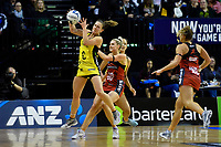 Pulse&rsquo; Claire Kersten in action during the ANZ Premiership - Pulse v Tactix at TSB Arena, Wellington, New Zealand on Monday 14 May 2018.<br /> Photo by Masanori Udagawa. <br /> www.photowellington.photoshelter.com