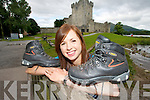 WALKING TALL: Aifirc O'Sullivan from Killarney who is taking part in the two week trek in September to the main  base camp on Mount Everest to raise funds for the Hope Foundation    Copyright Kerry's Eye 2008