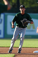 South Bend Silver Hawks second baseman David Nick (9) during a game vs. the West Michigan Whitecaps at Fifth Third Field in Comstock Park, Michigan August 16, 2010.   West Michigan defeated South Bend 3-2.  Photo By Mike Janes/Four Seam Images