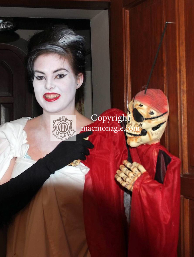 Sally MacMonagle pictured at Halloween party in Killarney 2011.