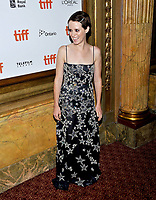 10 September  2018 - Toronto, Ontario, Canada. Claire Foy. &quot;First Man&quot; Premiere - 2018 Toronto International Film Festival at the Elgin Theatre. <br /> CAP/ADM/BPC<br /> &copy;BPC/ADM/Capital Pictures