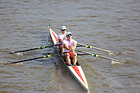 Crew: 2  Tideway Scullers School - Op 2x Championship<br /> <br /> Pairs Head 2019<br /> <br /> To purchase this photo, or to see pricing information for Prints and Downloads, click the blue 'Add to Cart' button at the top-right of the page.
