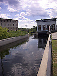 Hydro electric canal on Mississippi River, Almonte, Ontario<br />