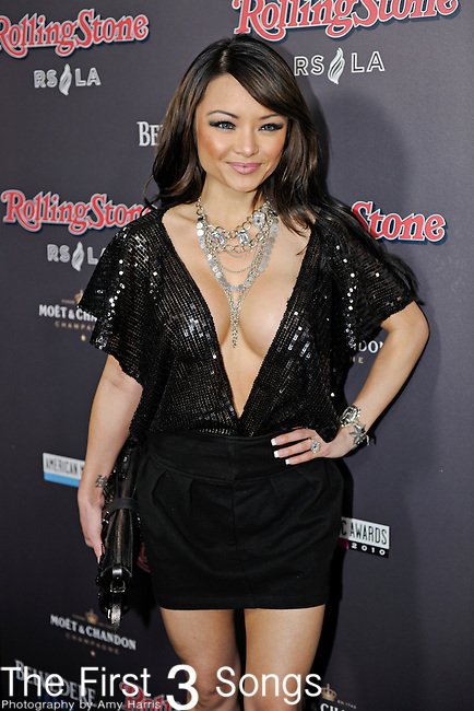 Tila Tequila attends the 2010 American Music Awards VIP After Party hosted by Rolling Stone Magazine at the Rolling Stone Restaurant & Lounge in Los Angeles, California.