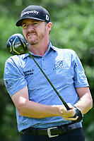 Jimmy Walker (USA) watches his tee shot on 9 during round 2 of the Valero Texas Open, AT&amp;T Oaks Course, TPC San Antonio, San Antonio, Texas, USA. 4/21/2017.<br /> Picture: Golffile | Ken Murray<br /> <br /> <br /> All photo usage must carry mandatory copyright credit (&copy; Golffile | Ken Murray)
