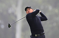 David Lipsky (USA) on the 14th tee during Round 1 of the UBS Hong Kong Open, at Hong Kong golf club, Fanling, Hong Kong. 23/11/2017<br /> Picture: Golffile | Thos Caffrey<br /> <br /> <br /> All photo usage must carry mandatory copyright credit     (&copy; Golffile | Thos Caffrey)