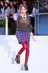 "Mayuko Kawakita, Sep 23, 2013 : Japanese fashion model Mayuko Kawakita attends a event ""UNIQLO Fashion Festival"" in Tokyo on September 23, 2013. (Photo by Yohei Osada/AFLO)"