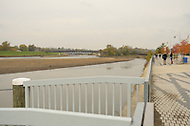 November 4, 2011  (Bladensburg, MD)  A photo of the Anacostia River Watershed in Bladensburg, MD.  The Watershed was selected under the Urban Waters Federal Partnership to stimulate local economies, create local jobs, and improve quality of life under.    (Photo by Don Baxter/Media Images International)