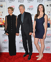 LOS ANGELES, CA. November 16, 2016: Actress Annette Bening husband actor/director Warren Beatty &amp; daughter Ella Beatty at the gala screening for &quot;20th Century Women&quot;, part of the AFI FEST 2016, at the TCL Chinese Theatre, Hollywood.<br /> Picture: Paul Smith/Featureflash/SilverHub 0208 004 5359/ 07711 972644 Editors@silverhubmedia.com