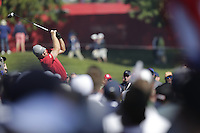 J.B. Holmes (Team USA) on the 3rd tee during the Friday afternoon Fourball at the Ryder Cup, Hazeltine national Golf Club, Chaska, Minnesota, USA.  30/09/2016<br /> Picture: Golffile | Fran Caffrey<br /> <br /> <br /> All photo usage must carry mandatory copyright credit (&copy; Golffile | Fran Caffrey)