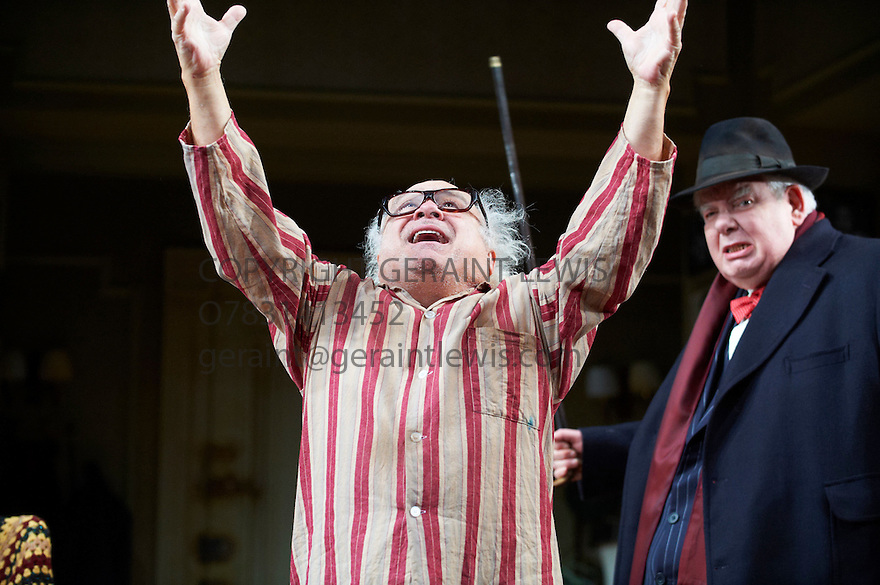 The Sunshine Boys by Neil Simon,  directed by Thea Sharrock. With Richard Griffiths as Al Lewis, Danny DeVito as William Clark. Opens at The Savoy Theatre  on 17/5/12 .CREDIT Geraint Lewis