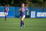Meg Kowalski (33) of the High Point Panthers hustles up the field during first half action against the Duke Blue Devils at Koskinen Stadium on September 11, 2016 in Durham, North Carolina.  The Blue Devils defeated the Panthers 4-1.   (Brian Westerholt/Sports On Film)