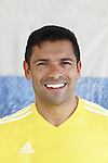 "All My Children's Mark Consuelos participates at the ""Kicking It"" at the Annual Tribeca/NYFEST Soccer Day Celebrity Exhibition on April 21, 2012 - NYFEST (which stands for New York Film and Entertainment Soccer Tournament) was designed to mesh the worlds of entertainment, soccer and New York City in conjunction with the Tribeca Film Festival. The day included a film and entertainment industry tournament with 44 teams with one winner the Grassrootsoccer team which Mark Consuelos played on which was cofounded by Survivor Africa winner Ethan Zohn. The all-day event took place at Pier 40 in Manhattan, and consisted of an industry tournament, a youth showcase, and a celebrity soccer tournament.  (Photo by Sue Coflin/Max Photos)"