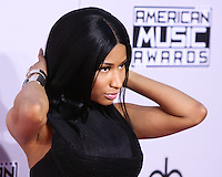 LOS ANGELES, CA, USA - NOVEMBER 23: Nicki Minaj arrives at the 2014 American Music Awards held at Nokia Theatre L.A. Live on November 23, 2014 in Los Angeles, California, United States. (Photo by Xavier Collin/Celebrity Monitor)