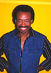 Earth Wind & Fire 1985 Maurice White<br /> © Chris Walter