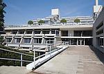 New Court building in Christ's College, University of Cambridge, architect Sir Denys Lasdun built 1966-70, Cambridge, England
