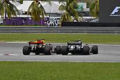 1st October 2017, Sepang, Malaysia;  FIA Formula One World Championship, Grand Prix of Malaysia, 77 Valtteri Bottas (FIN, Mercedes AMG Petronas F1 Team), 3 Daniel Ricciardo (AUS, Red Bull Racing)