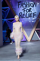 Marjan Jonkman walks the runway during Fashion For Relief Cannes 2018 during the 71st annual Cannes Film Festival at Aeroport Cannes Mandelieu on May 13, 2018 in Cannes, France.<br /> CAP/NW<br /> &copy;Nick Watts/Capital Pictures