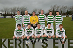 Listowel Celtic:The Listowel Celtic A team  who defeated Roscommon Town 2-0 in the 5th round of the FAI Juniot Cup. Front : Conor O'Neill, Pa Walsh, Mikey Paul Kelliher, Adam Twomey & Tommy Walsh..Back: Robby O'Hanlon, Mark Twomey,Declan McCarthy, Pa Burns, David Sheehy & Brian Murphy.