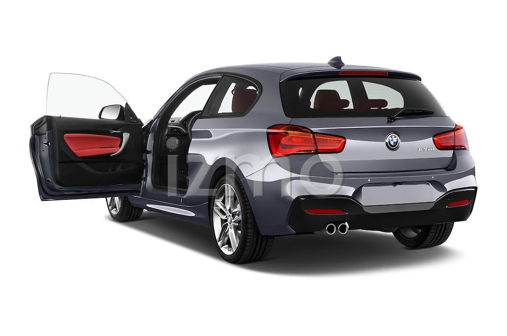 Car images of a 2015 BMW 1 Series M Sport 3 Door Hatchback Doors