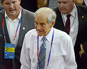 United States Representative Ron Paul (Republican of Texas) visits the floor prior to the start of the day's program at the 2012 Republican National Convention in Tampa Bay, Florida on Tuesday, August 28, 2012.  .Credit: Ron Sachs / CNP.(RESTRICTION: NO New York or New Jersey Newspapers or newspapers within a 75 mile radius of New York City)