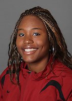 STANFORD, CA - SEPTEMBER 29:  Tiffany Tillett of the Stanford Cardinal during track and field picture day on September 29, 2009 in Stanford, California.