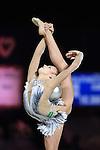 Aleksandra Soldatova (RUS), <br /> OCTOBER 4, 2015 - Rhythmic Gymnastics : <br /> AEON CUP 2015 Worldwide R.G. Club Championships <br /> at Tokyo Metropolitan Gymnasium, Tokyo, Japan. <br /> (Photo by AFLO SPORT)