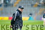 Manager Eamonn Fitzmaurice Kerry vMayo in the All Ireland Semi Final in Croke Park on Sunday.