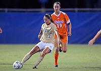 Florida International University women's soccer player Deana Rossi (17) plays against the University of Florida on August 21, 2011 at Miami, Florida. Florida won the game 2-0. .