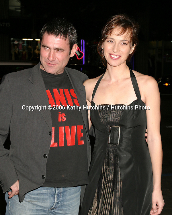 "Sergi Lopez & Ariadna Gil.LA Screening of ""Pan's Labyrinth"".Egyptian Theater.Los Angeles, CA.December 18,  2006.©2006 Kathy Hutchins / Hutchins Photo"