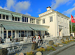 Floien Folkerestaurant restaurant cafe, Mount Floyen, Bergen, Norway built in 1925