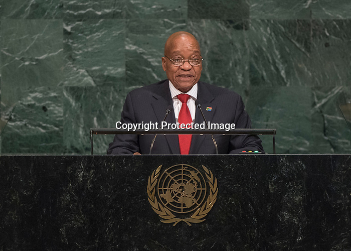 72 General Debate – 20 September <br /> <br /> His Excellency Jacob Zuma, President of the Republic of South Africa