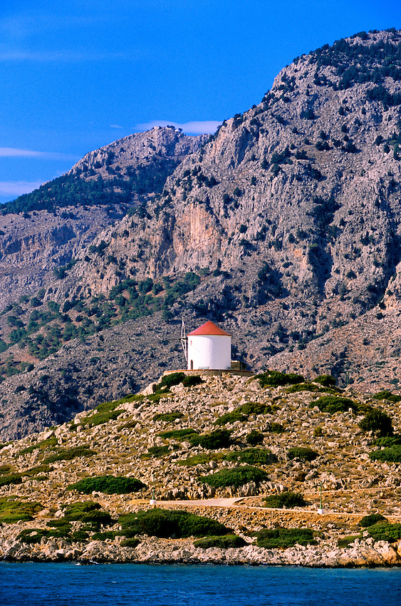 Gulf of Panormitis, island of Symi, Dodecanese, Greece