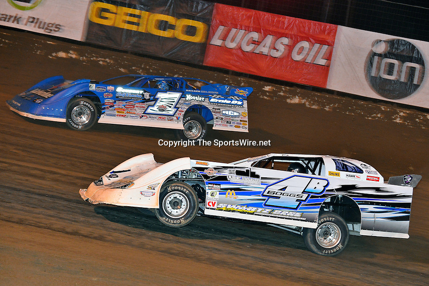 Oct 19, 2013; 10:22:00 PM; Portsmouth, OH ., USA; The 33rd Annual RED BUCK Dirt Track World Championship Presented by Borrowed Blue at Portsmouth Raceway Park, a $50,000-to-win event on the Lucas Oil Late Model Dirt Series.  Mandatory Credit: (thesportswire.net)